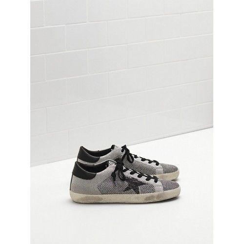 3b59e185aac 2017 GGDB Golden Goose Superstar Womens Sneakers Grey Online Sale ...