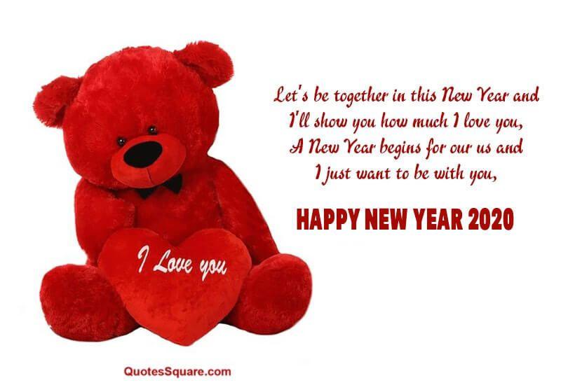 45 Best New Year 2020 Wishes For Fiance And Lover To Impress Iphone2lovely Happy New Year Love Quotes Happy New Year Love Love Quotes For Her