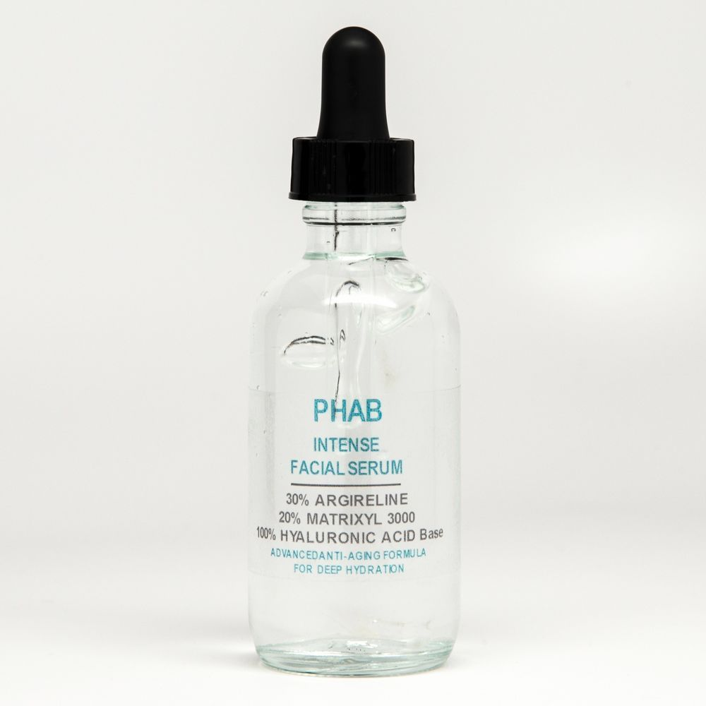 Argireline Matrixyl 3000 Hyaluronic Acid ha Peptide Serum Wrinkle Collagen Cream #Phab