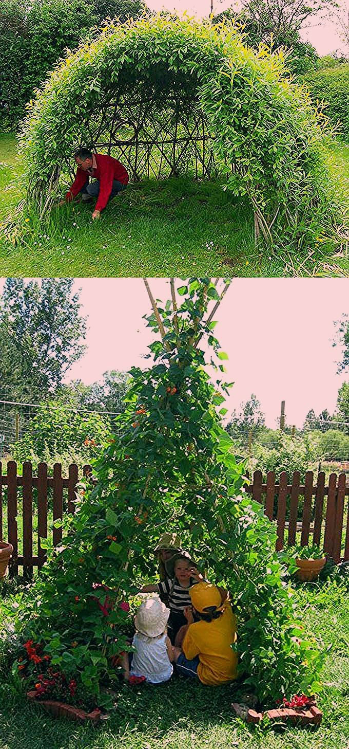 Photo of 12 Living Garden Decorations & Structures to DIY! – A Piece Of Rainbow