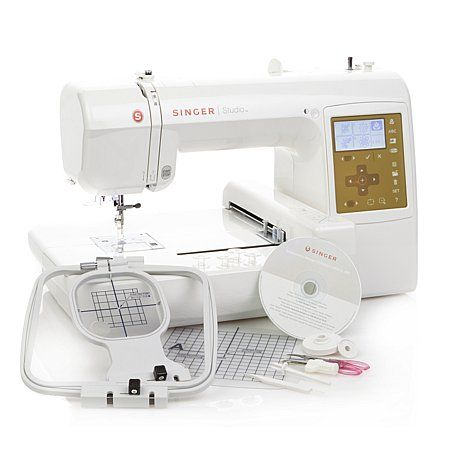 Singer® S10 Studio Embroidery Machine | Machine embroidery ...