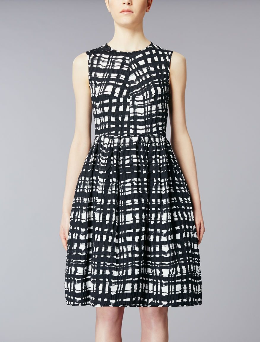 Cotton satin dress f9029cb843f