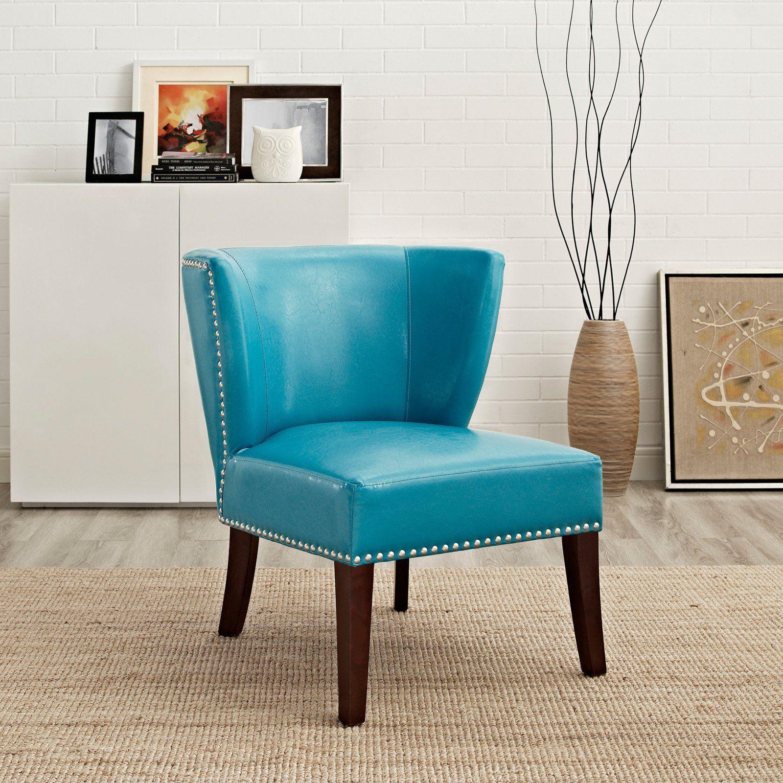 Simpli Home Jamestown Wingback Chair from hayneedle Stuff to