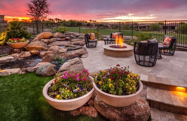 Inspiration For Backyard Fire Pit Designs: Backyard Design Inspiration. Outdoor Seating. Outdoor