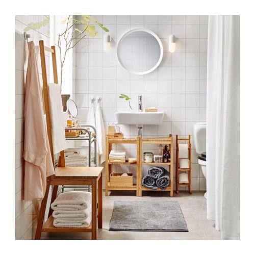 Spiegel LANGESUND weiß | Bad | Spiegel ikea, Badezimmer und ...