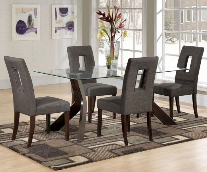 Glass Dining Room Tables 17 Dining Room in 2018 Pinterest