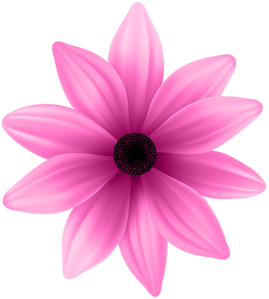 Flower Pink Png Clip Art Image Flower Clipart Flower Background Iphone Flower Painting