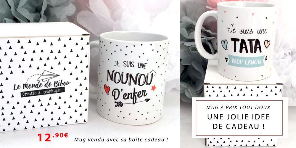 id es cadeaux pour les f tes mugs tasses r alis es par une cr atrice du fait main boutique. Black Bedroom Furniture Sets. Home Design Ideas