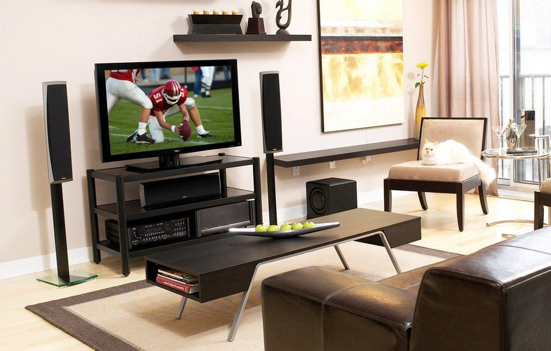 Beautiful Small TV Room Ideas | Small Living Room Tv Wall Image Partition Wall For  Small