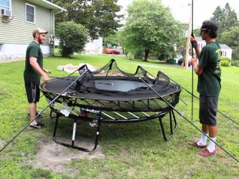 Video Of A Springfree Trampoline Setup By Best In Backyards Our Team Of Professionals Delivers And Installs All Over Conne Backyard Trampoline Best Trampoline