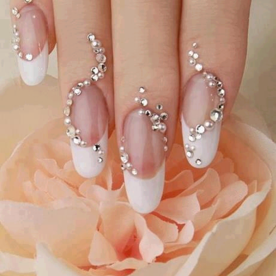 Wedding Nail Art Designs Your Nails Never Looked So Glam Nail