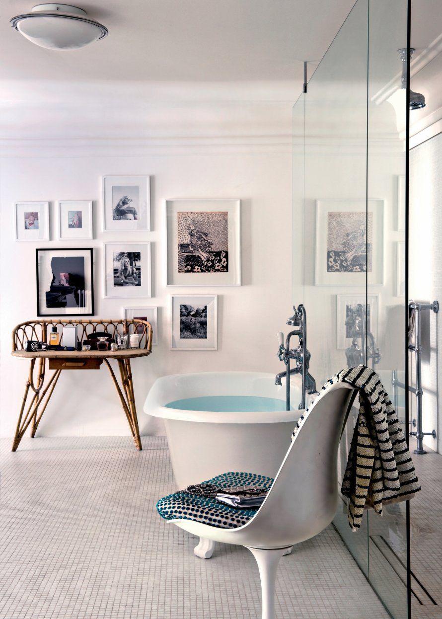 Une salle de bain r tro d coration salle de bain deco Deco salle de bain retro