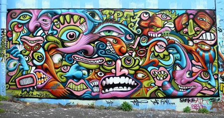 Originally Linked To Gangs Hip Hop And Street Culture Graffiti Is