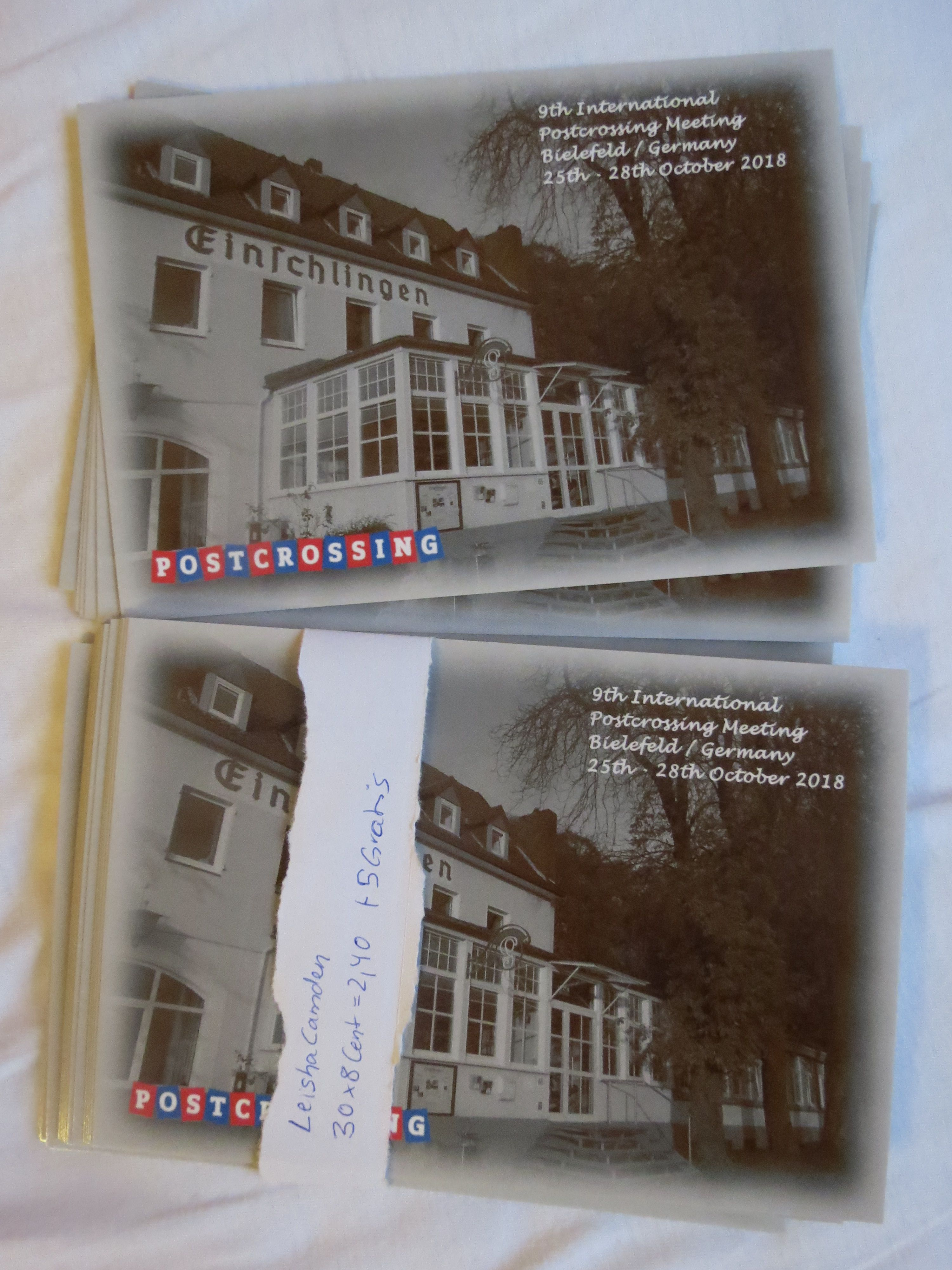Bielefeld Shopping Postcrossing Meetup Cards Bielefeld Shopping In 2018 Books