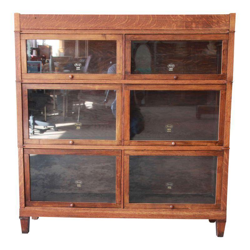 Lovely Antique Oak Display Cabinet