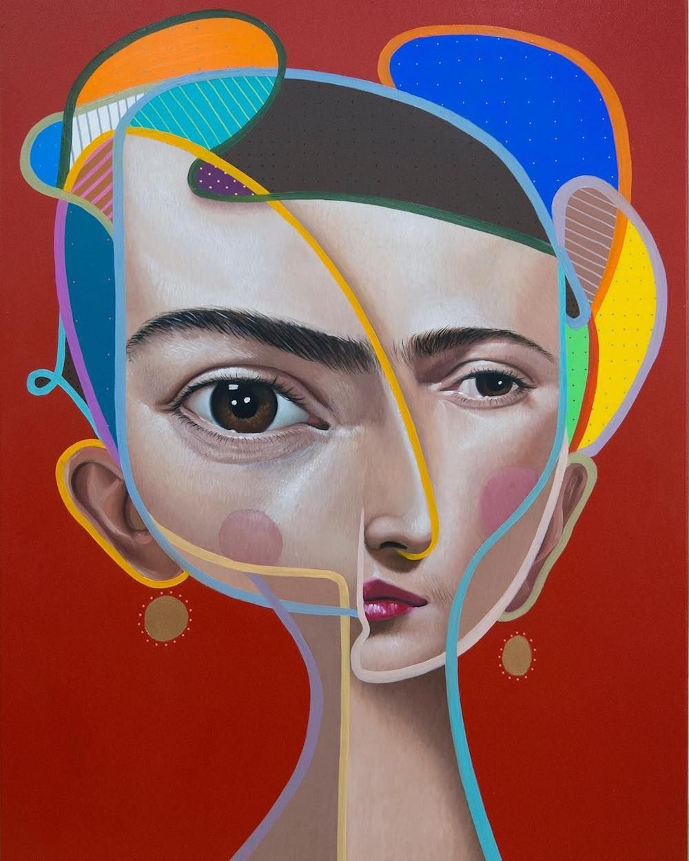 Webdesigner Depot Cubist Paintings Cubist Portraits Cubist