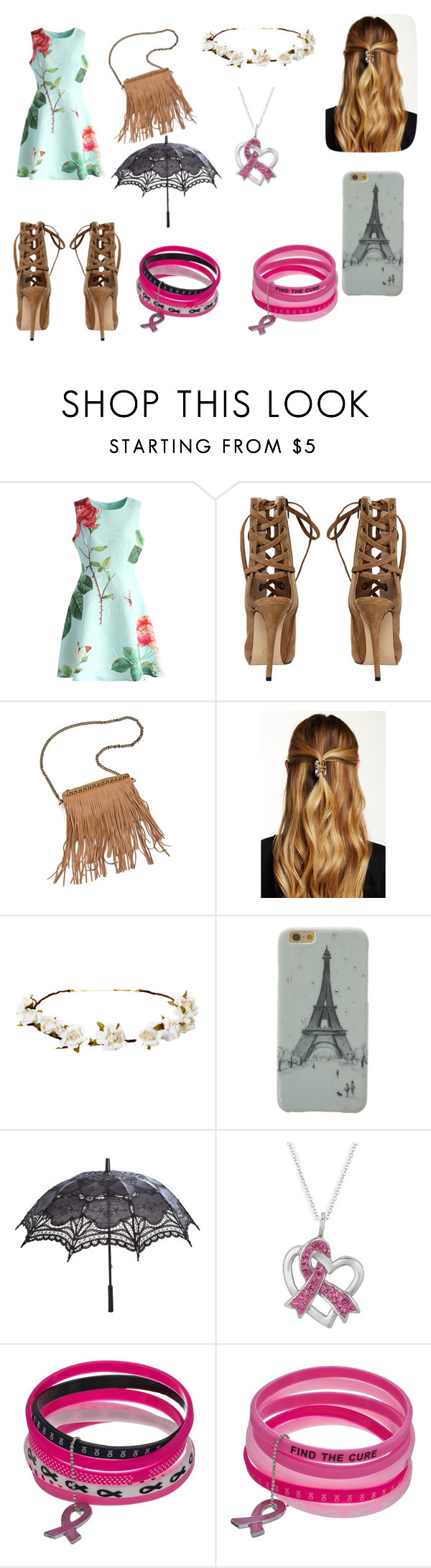 """Spring Day"" by horans-girlfriend ❤ liked on Polyvore featuring Chicwish, Patchington, Natasha Accessories and Cult Gaia"