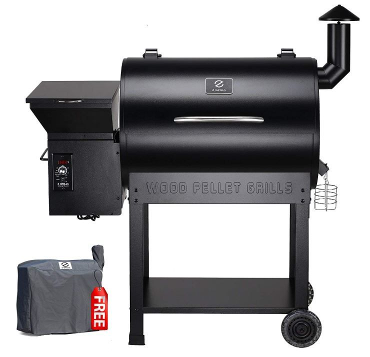 The Best Bbq Temperature Control Cooker Grill Smoker Digiq: Z Grills ZPG-7002 Wood Pellet Grill & Smoker, 8 In 1 BBQ