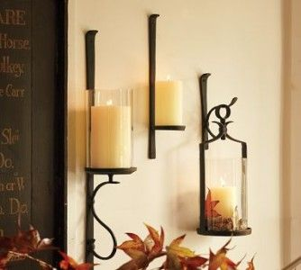 Pottery Barn Wrought Iron Wall Sconse Details About Pottery Barn Artisanal Iron Hurricane Candle Wall Candles Wall Mounted Candle Holders Candle Wall Sconces