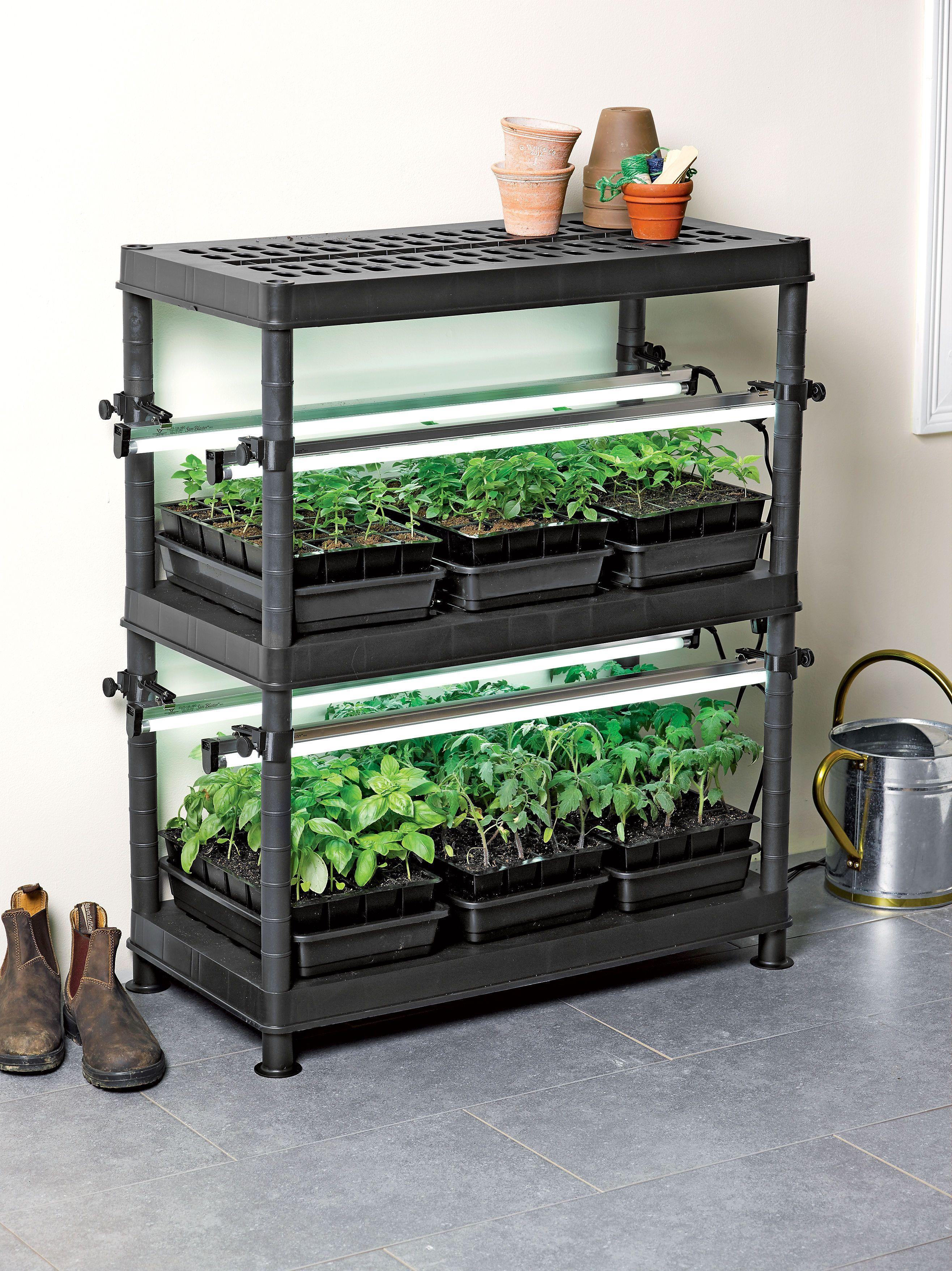 Stack N Grow Light System Backyard Aquaponics Indoor Vegetable