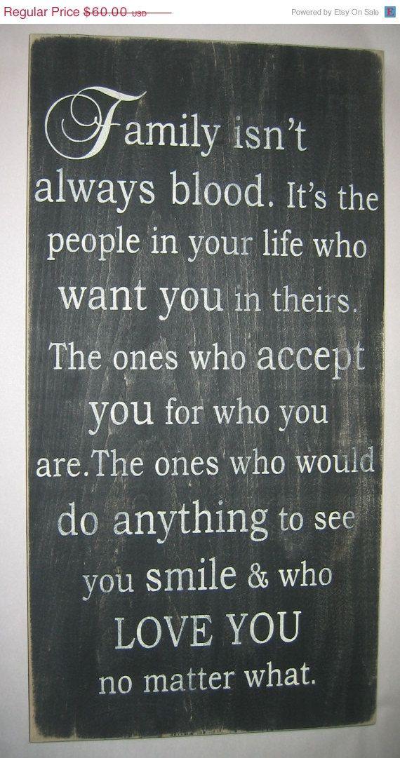 Family isn't always blood, Family Gift, DIGITAL, YOU PRINT