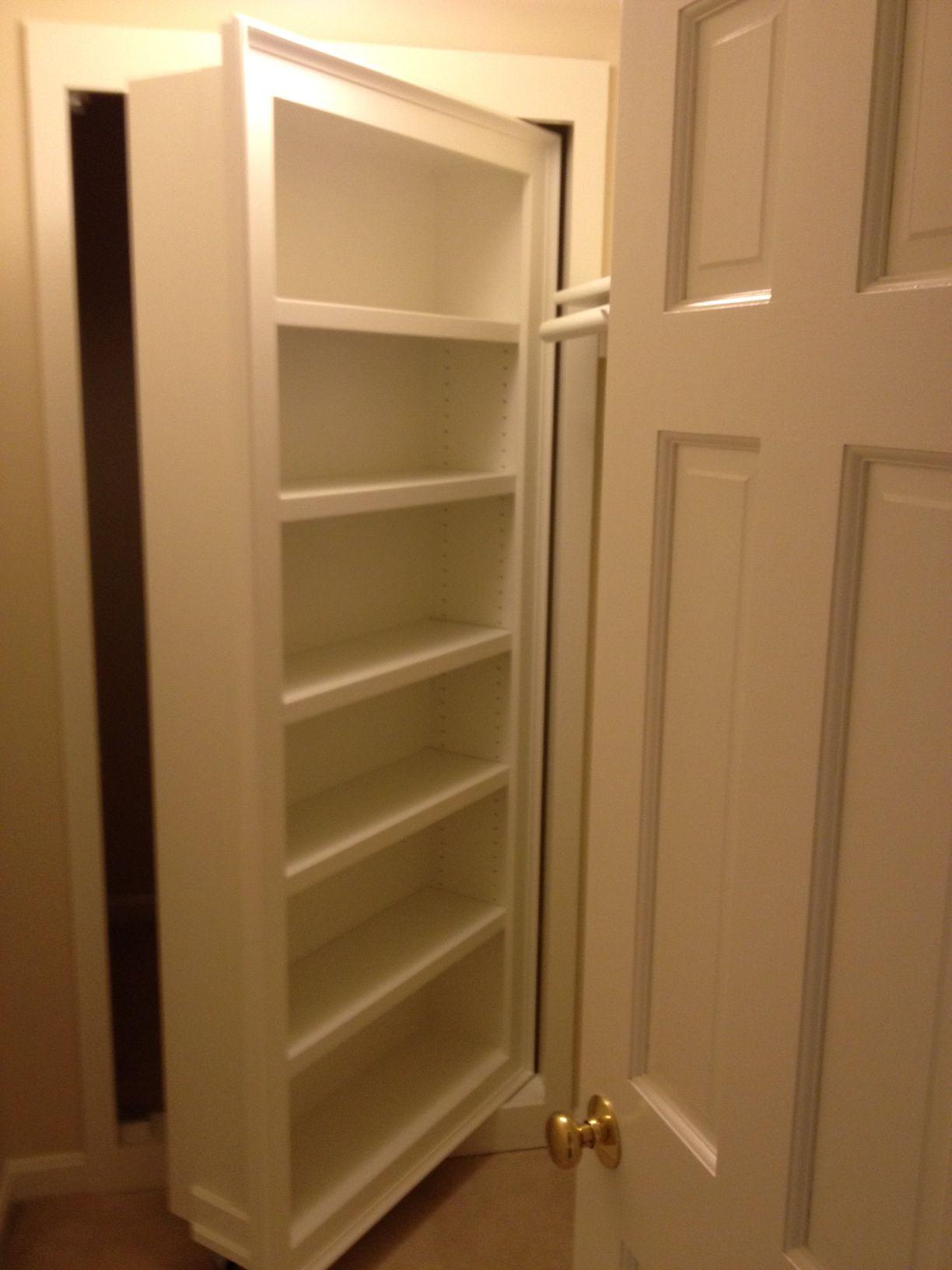 Hidden Door To Hidden Closetsafe Room North Farm
