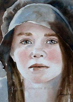 Resultado De Imagen Para Watercolor Portrait Pinterest
