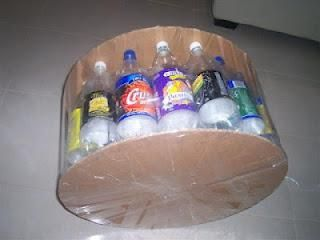 Awesome Pop Bottle Footstool Upcycled Furniture Recycle Plastic Creativecarmelina Interior Chair Design Creativecarmelinacom