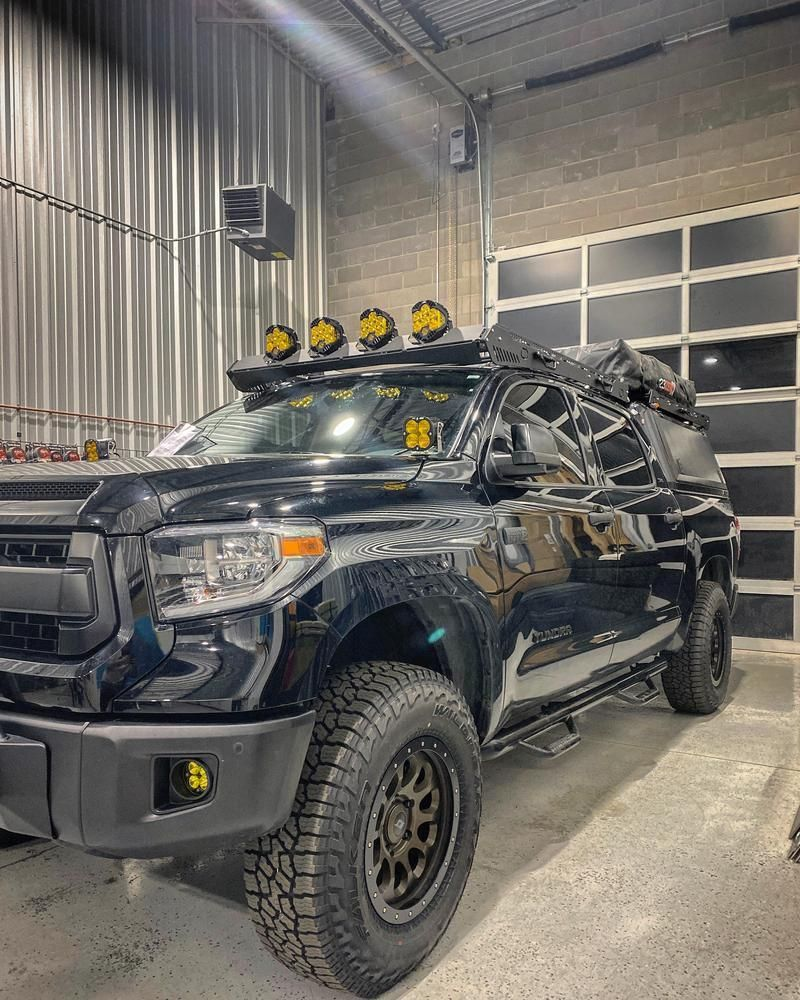 upTOP Overland Alpha CrewMax Roof Rack Toyota Tundra