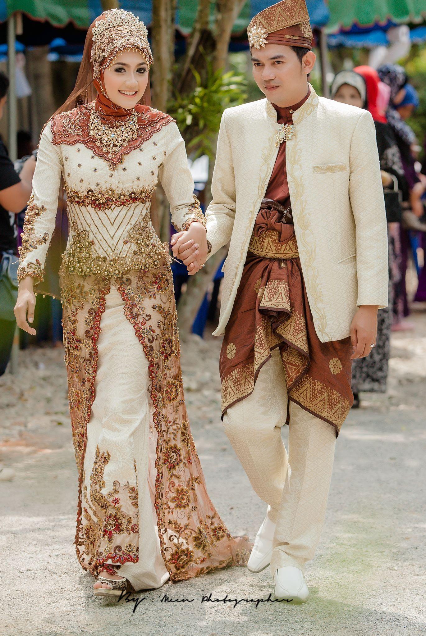 Pakaian Adat Riau Baju Pengantin Melayu Riau Modern