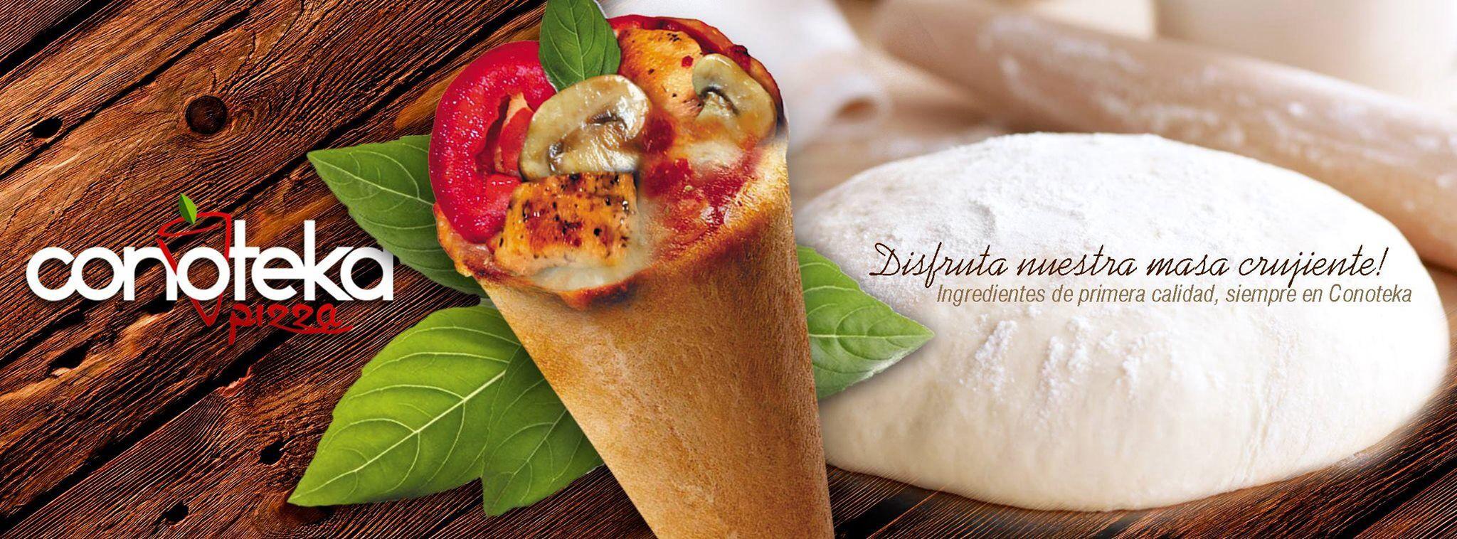 Conoteka Pizza... riquísimos!!!