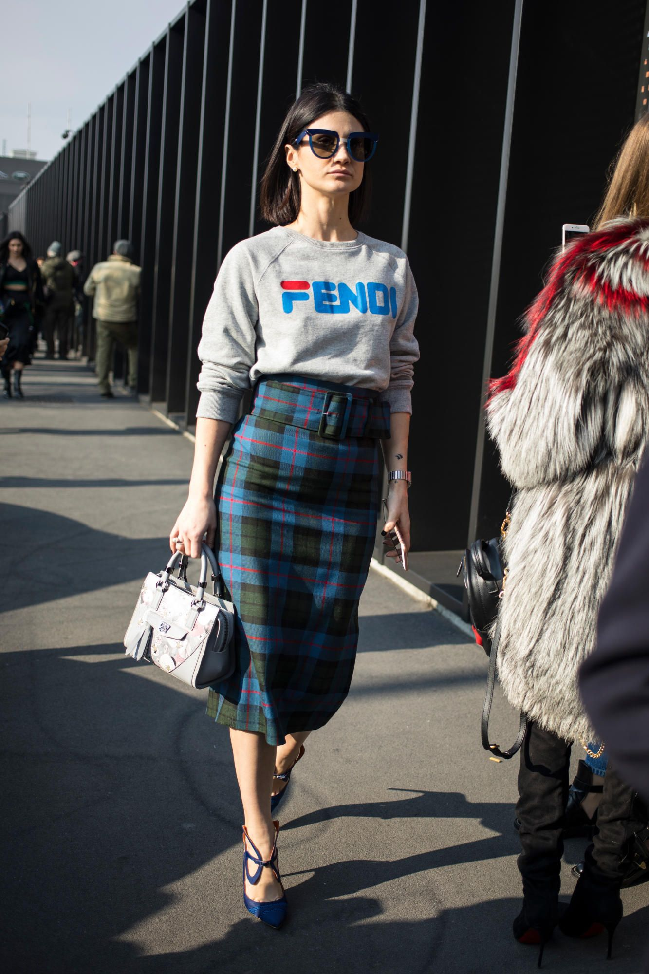 99 New Trends Bathroom Tile Design Inspiration 2017 29: Leopard Print And Gucci Logos Took Over Street Style On