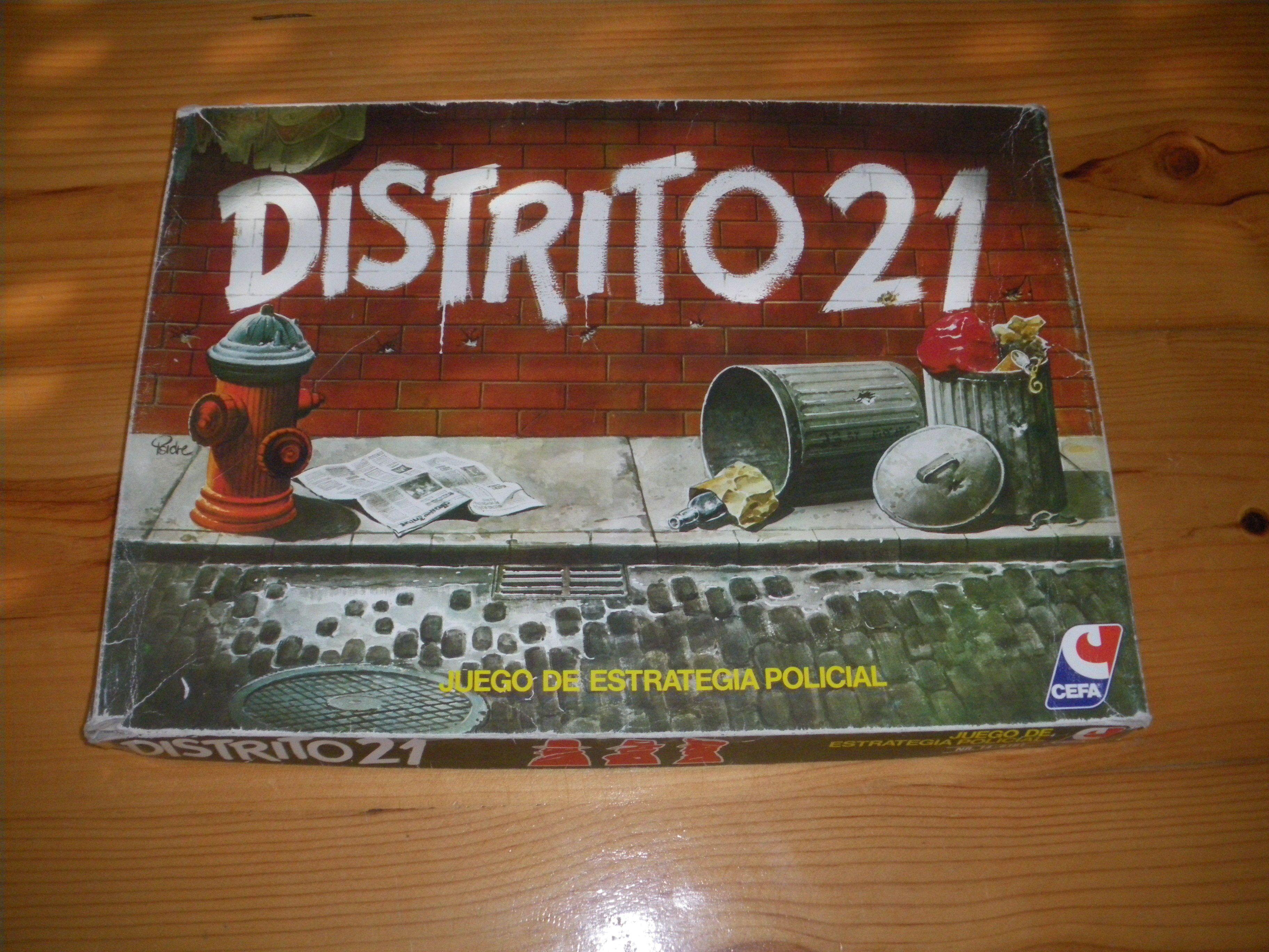 Distrito 21 Board games, Mafia, Decorative tray