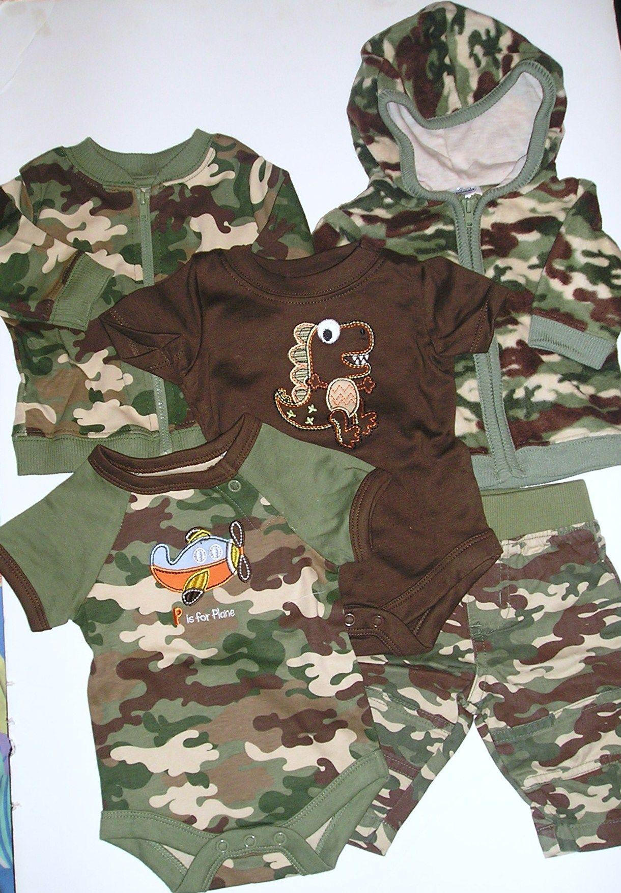 camo baby boy clothes Preemie Boy clothing page 4