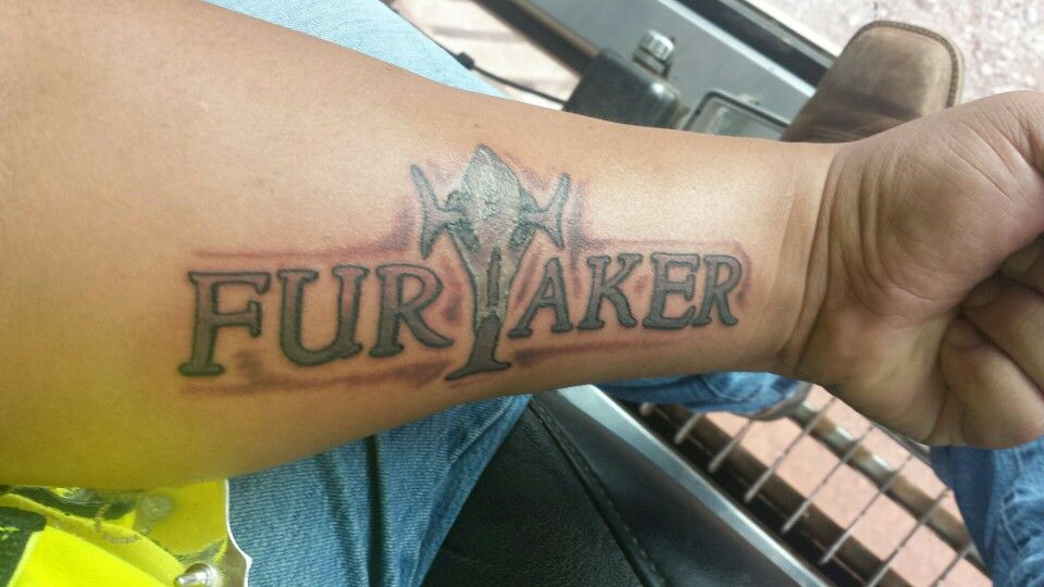 My Furtaker tattoo!!!