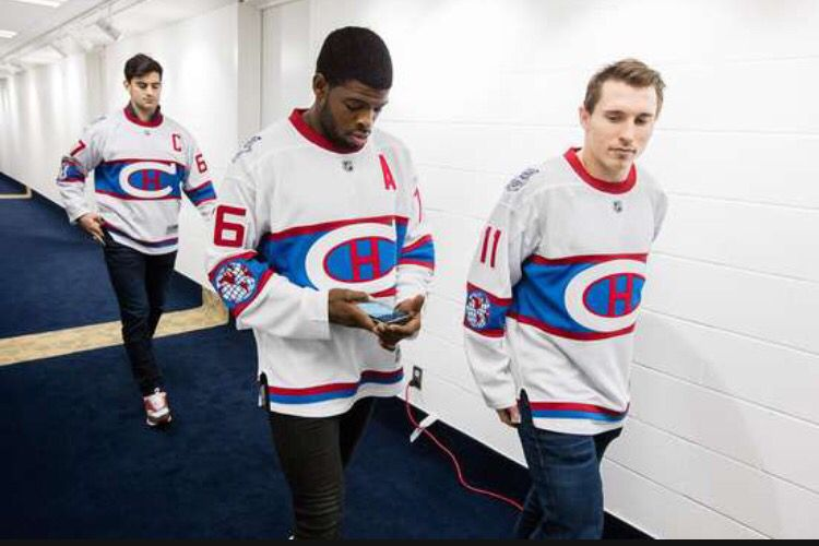 purchase cheap a552e a556a The 2016 Winter Classic Jerseys. Max Pacioretty,P.K Subban ...
