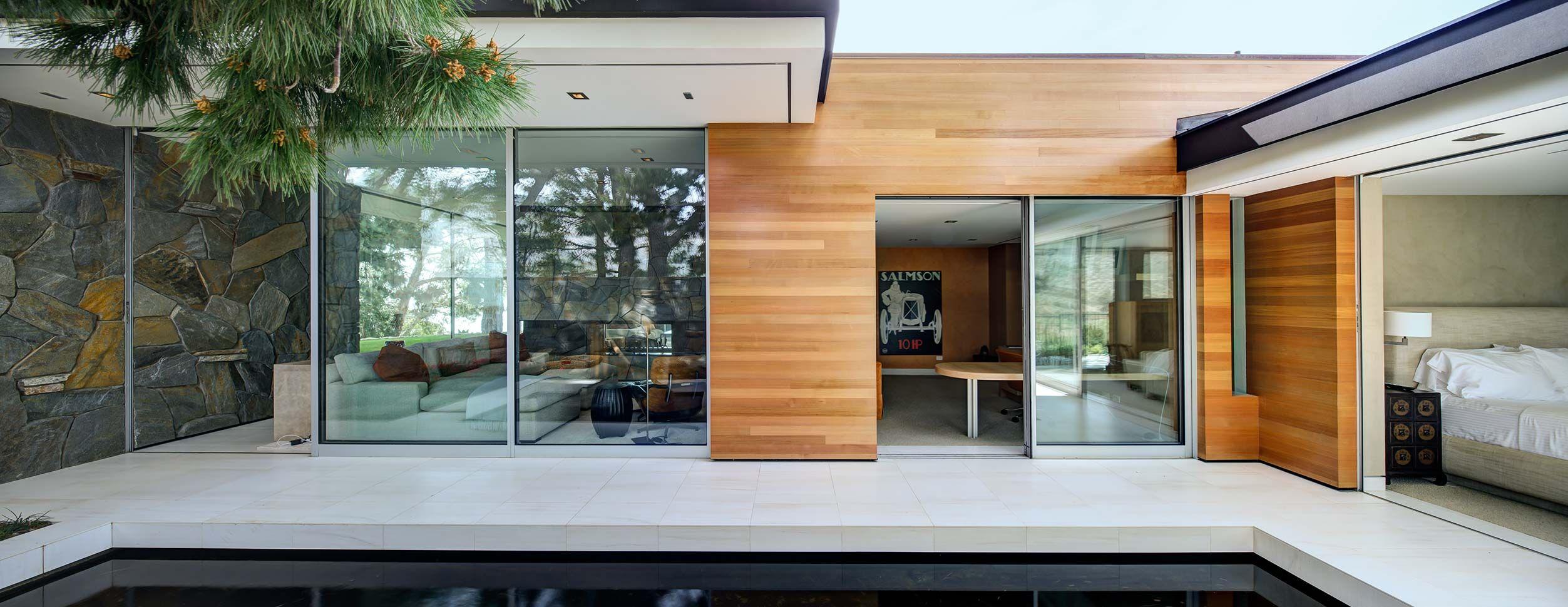 Mid Century Modern In Malibu Residential Galleries La Jolla Houses Residential Backyard Studio