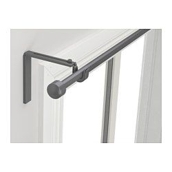 R 196 Cka Curtain Rod Combination Silver Color Ceiling