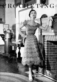 1950s NOMOTTA Evening Dress