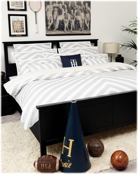 linge de lit tommy hilfiger mod le satin raye dynamic graphics or scratches notre. Black Bedroom Furniture Sets. Home Design Ideas
