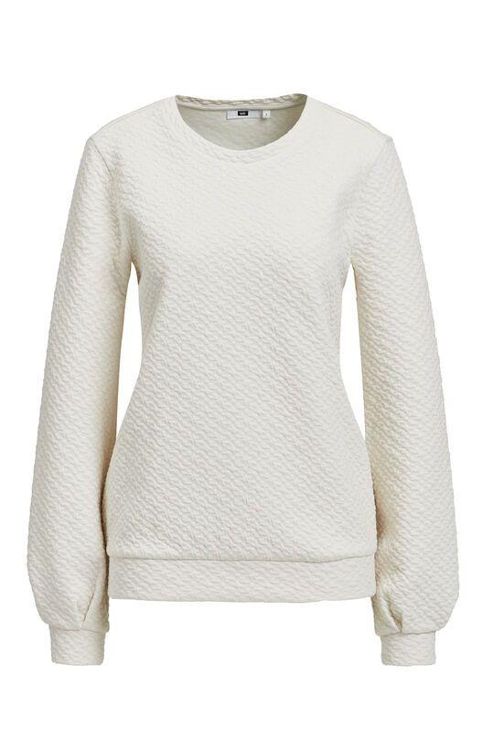 Dames trui met structuur | 94960655 WE Fashion