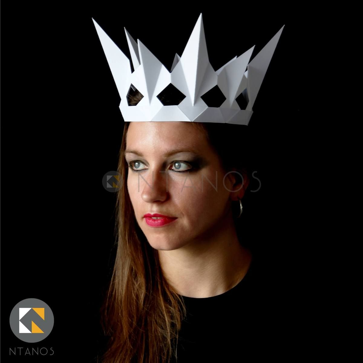 Evil queen's crown | paper crowns, crown template, mask design.