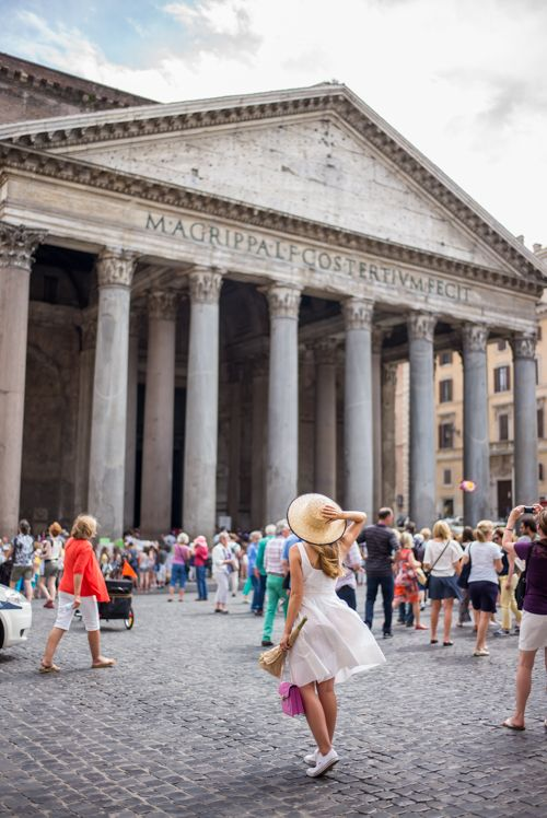 Italian Summers in Rome. Pantheon