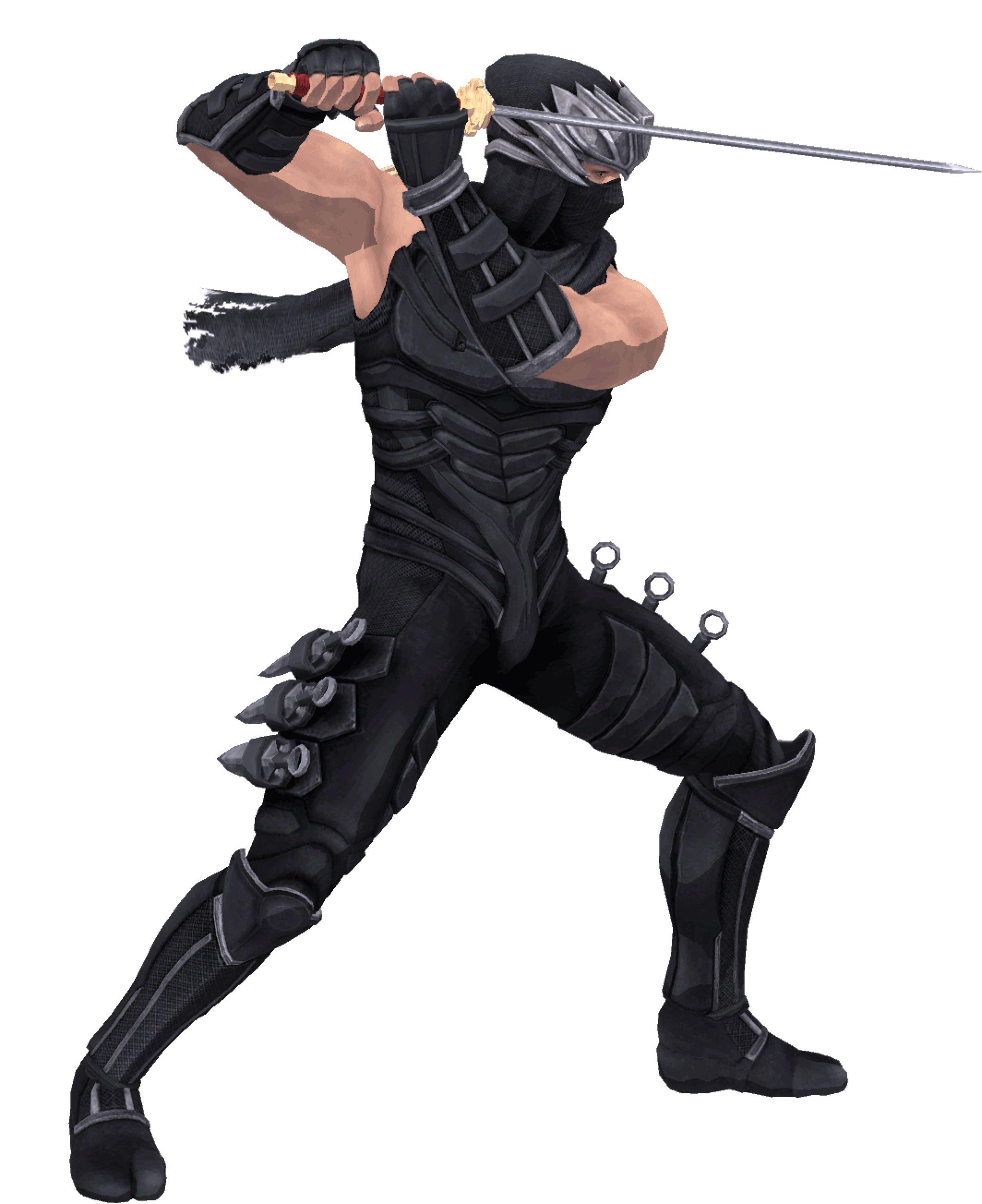 Ryu Hayabusa Standing Stance 2d By Larsmasters On Deviantart