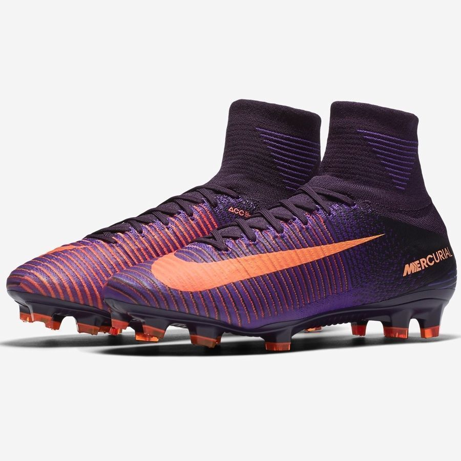 4c342542620 Nike Mercurial Superfly V FG Soccer Cleats Mens 11 Purple Dynasty 831940  585  Nike