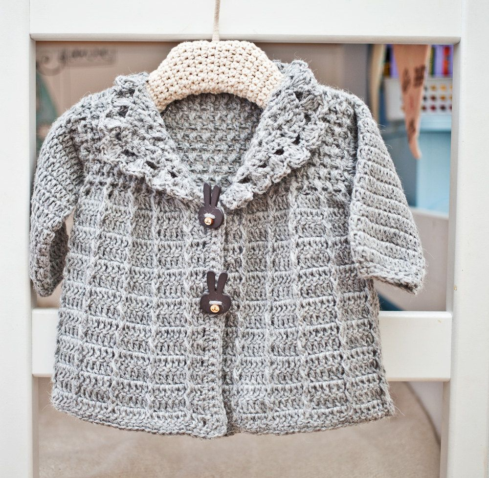 Crochet pattern baby toddler jacket free pattern crochet crochet pattern baby toddler jacket bankloansurffo Images