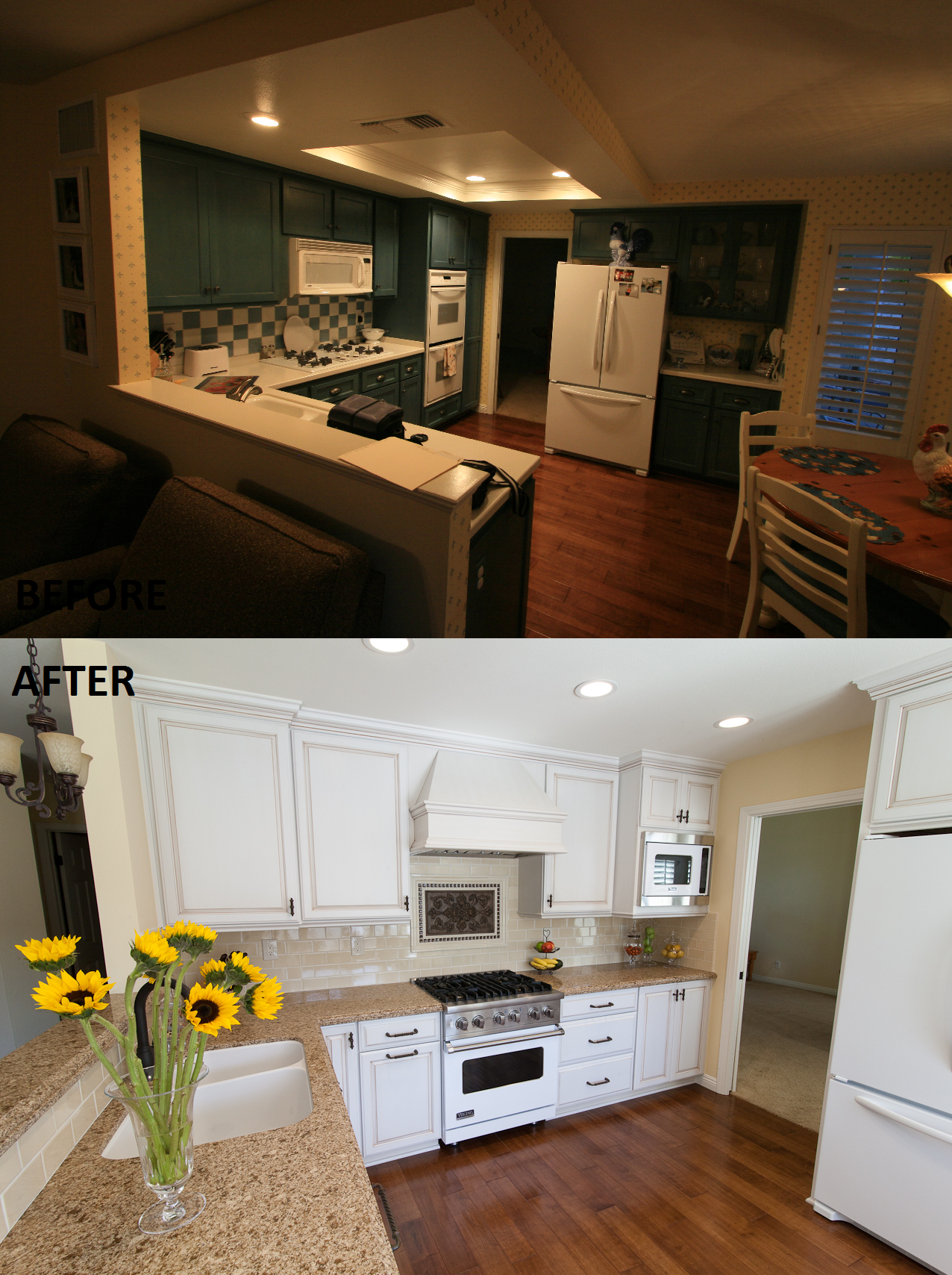 Kitchen Remodel by Kitchens Etc of Ventura County Cabinetry is