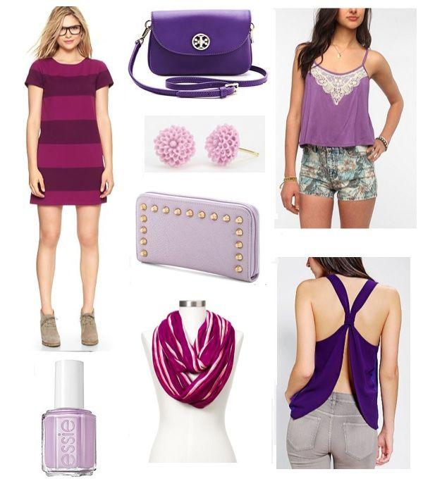 Sense & Sequins: Color Crushing on Purple - Go Frogs!