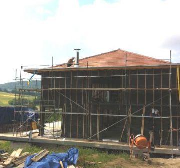 Habillage des façades du0027une maison en ossature métallique Maison - plan maison structure metallique