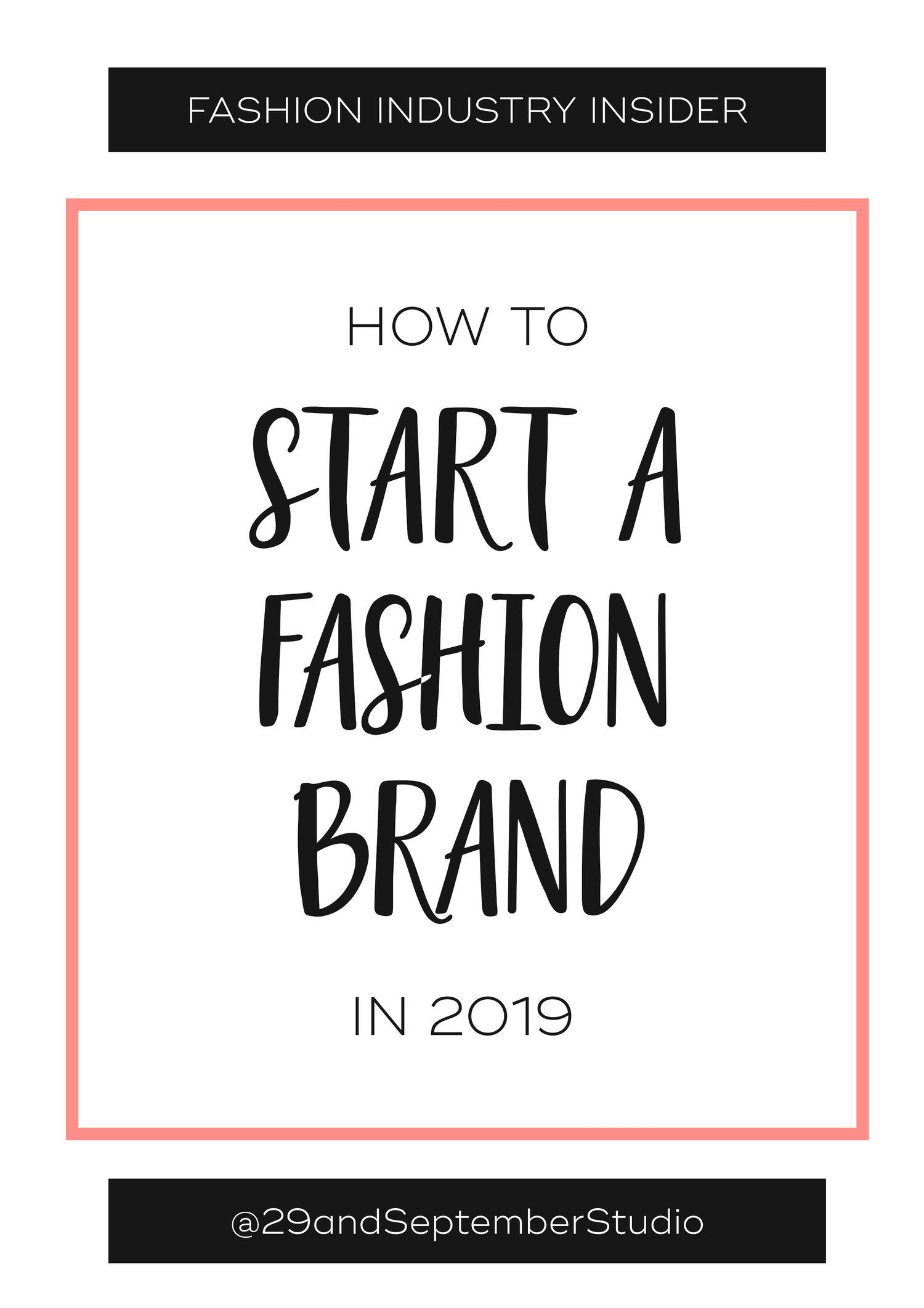 Photo of How to start a fashion business in 2019
